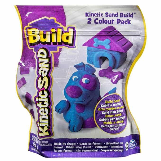 Kinetinis smėlis Build