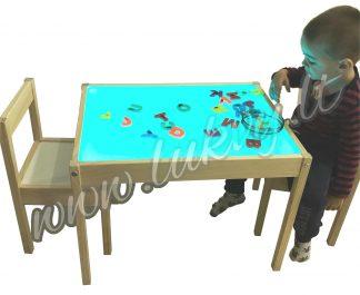 Šviesos stalas Medinukas